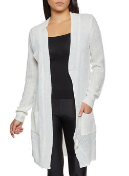 Knit Two Pocket Duster - 3022054261437