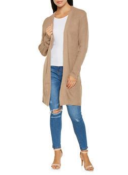 Long Sleeve Knit Cardigan - 3022054265925
