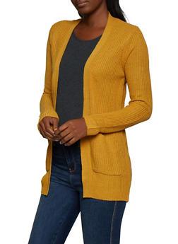 Knit 2 Pocket Cardigan - 3022054266840