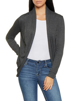 Open Front Cardigan - 3031054261742