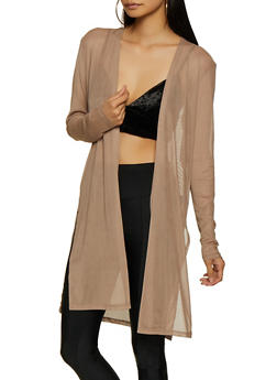 Mesh Long Sleeve Duster | 3031058751815 - 3031058751815