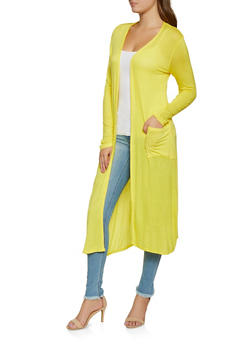 Two Pocket Lightweight Duster - 3031074292443