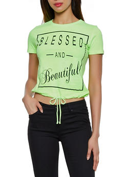 Blessed and Beautiful Tee - 3032033873327