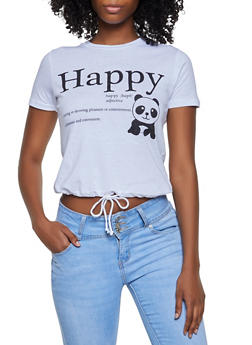 Happy Panda Tee - 3032033873331