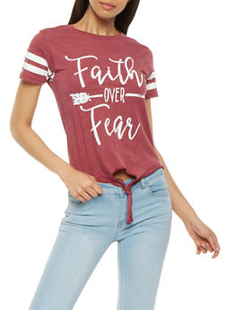 Faith Over Fear Graphic Tee - 3032033878174