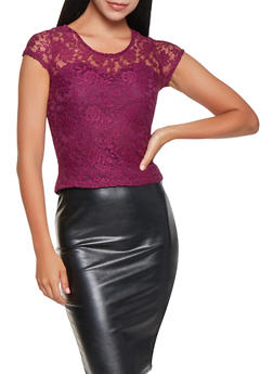Floral Lace Top - 3033015992756