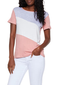 Color Blocked Tee - 3033054261630