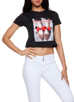 You are Cute Patch Graphic Tee - 3033058751832