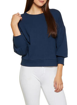 Bubble Sleeve Sweatshirt - 3034054260597
