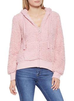 Sherpa Hooded Sweatshirt - 3034058751329