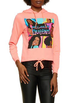 Melanin Queens Drawstring Hem Top - 3036033870780