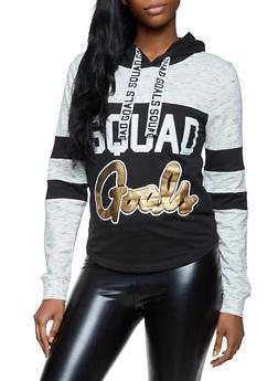 Squad Goals Color Block Sweatshirt - 3036033871625