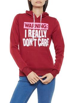 Hooded Graphic Sweatshirt - 3036038343403