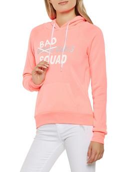 Graphic Hooded Sweatshirt - 3036038343404