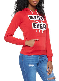 Best You Ever Had Graphic Sweatshirt - 3036038343409