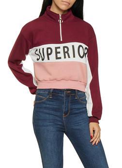 Superior Color Block Sweatshirt - 3036051060006