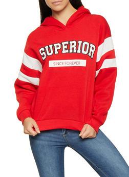 Graphic Hooded Sweatshirt - 3036051060020
