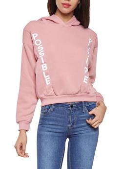 Graphic Fleece Lined Sweatshirt - 3036051060103