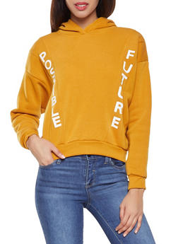 Graphic Fleece Lined Sweatshirt - 3036051060103