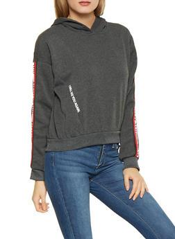 New York Graphic Tape Trim Sweatshirt - 3036051060104