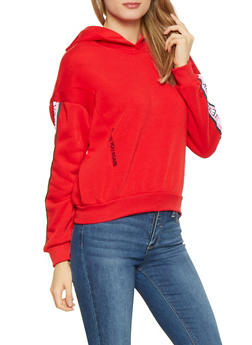 New York Graphic Tape Trim Sweatshirt - 3036051060104