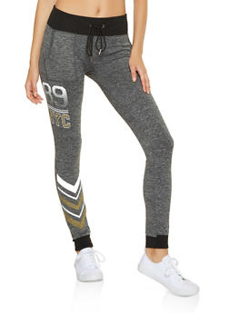 Fleece Lined 89 NYC Joggers - 3056001444792