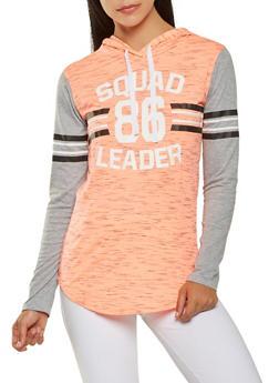 Hooded Graphic Pullover Sweatshirt - 3056038342868