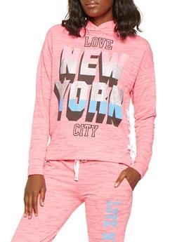 Love New York City Graphic Sweatshirt - 3056038342874