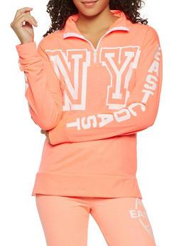 Graphic Long Sleeve Sweatshirt - 3056038342880