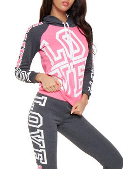 Love Nation Graphic Sweatshirt - 3056038347030