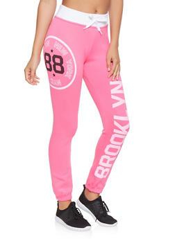 Brooklyn Graphic Sweatpants - 3056038347061
