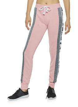 Love Graphic Sweatpants - 3056038347081