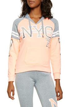 NYC Graphic Hooded Sweatshirt - 3056038347100