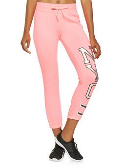 NYC Graphic Sweatpants - 3056038347101
