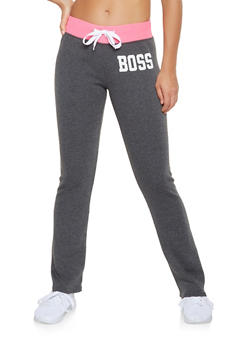 Boss Graphic Sweatpants - 3056038347111