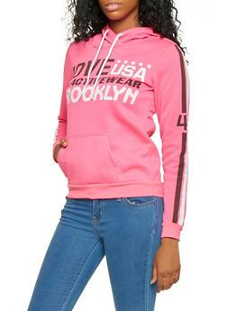 Graphic Hooded Sweatshirt - 3056038347120