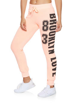 Brooklyn Graphic Sweatpants - 3056038347191