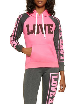 Love Graphic Sweatshirt - 3056038347210