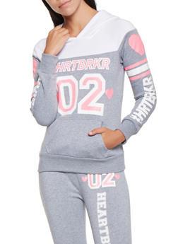 HRTBRKR Graphic Sweatshirt - 3056038347240
