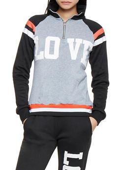 Love Graphic Sweatshirt - 3056038347280