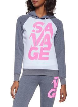 Savage Graphic Sweatshirt - 3056038347290