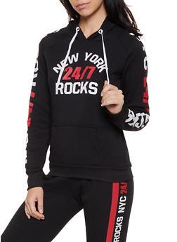 New York Rocks 24 7 Sweatshirt - 3056038347360