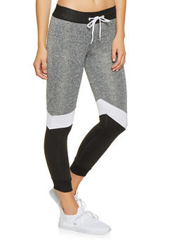 Color Block Joggers - 3056038347411
