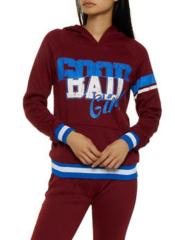 Good Bad Girl Pullover Sweatshirt - 3056038347426