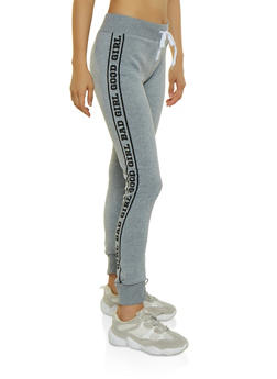 Good Girl Bad Girl Joggers - 3056038347427