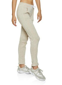 Knit Marled Sweatpants - 3056038347611
