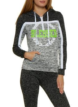 Blessed Half Zip Knit Sweatshirt - 3056038347642