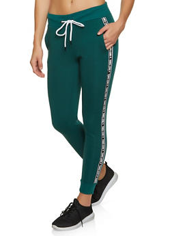 Just Chill Tape Fleece Joggers - 3056051060044