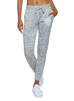 Love Graphic Marled Sweatpants - 3056051060611
