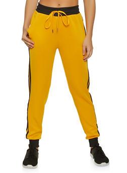Varsity Stripe Track Pants - 3056051061421